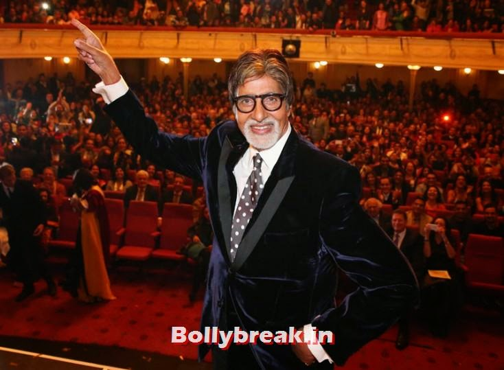 Amitabh Bachchan, Kangana Ranaut & Amitabh Bachchan at the Indian Film Festival of Melbourne Awards