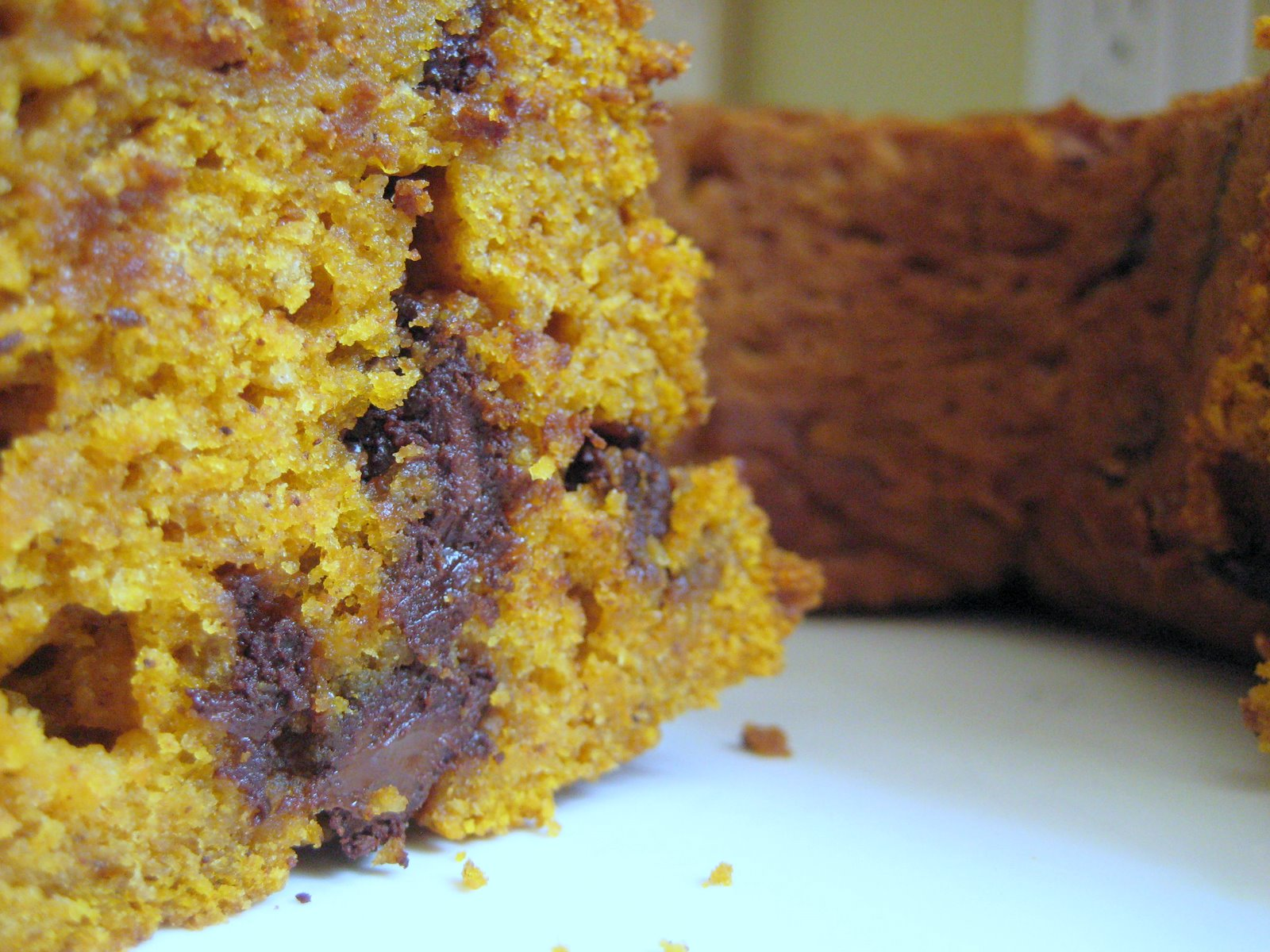 Chocolate Bundt Cake That Looks Like A Pumpkin