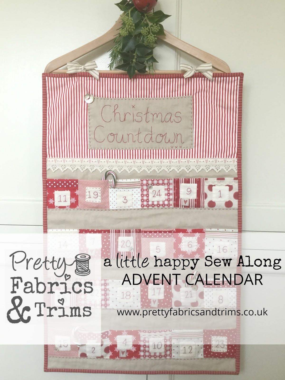 a little happy place a little happy sew along advent. Black Bedroom Furniture Sets. Home Design Ideas