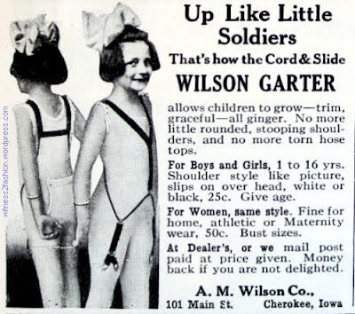 Up like little soldiers - Wilson Garter