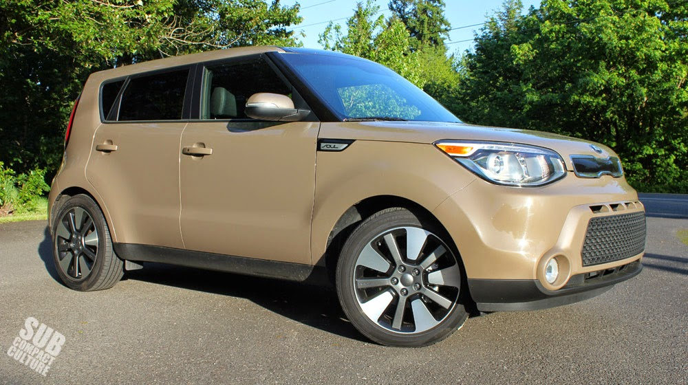 2014 Kia Soul Exclaim Latte Brown