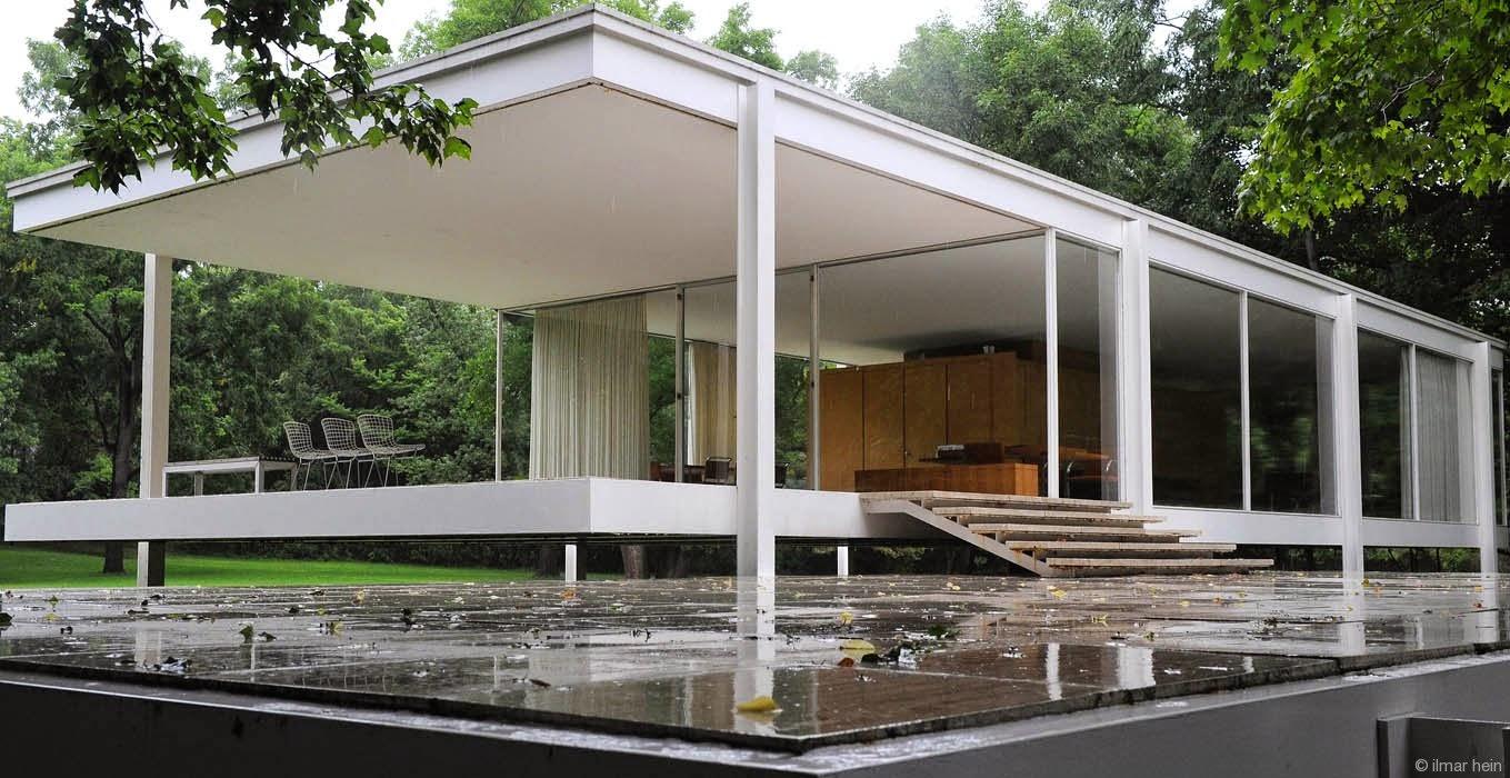 Kenzo x Design 360 Farnsworth house by Ludwig