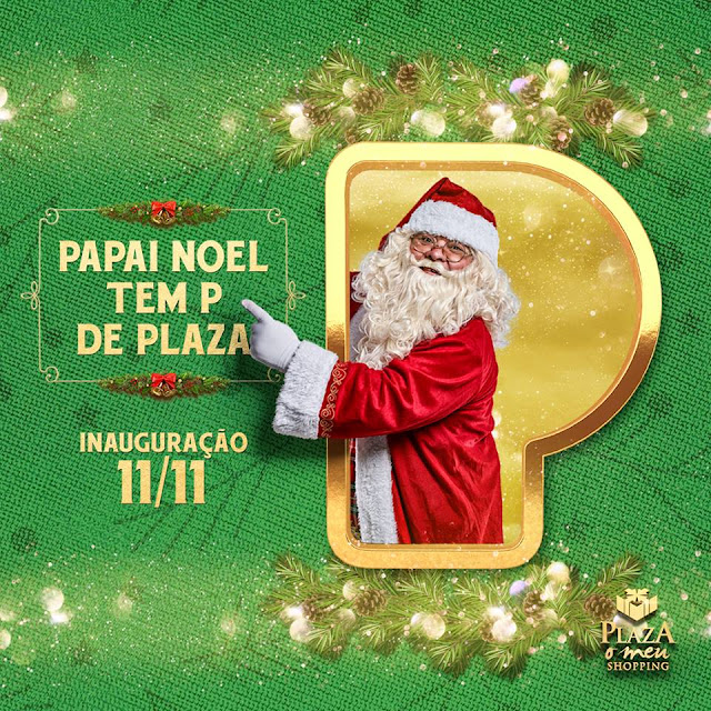 Natal no Plaza Casa Forte