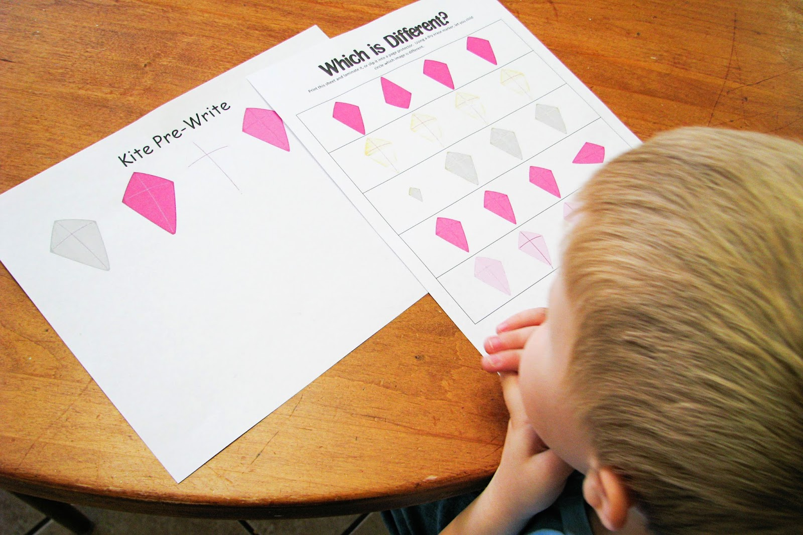 Mommy S Little Helper Letter K Kites Preschool Theme