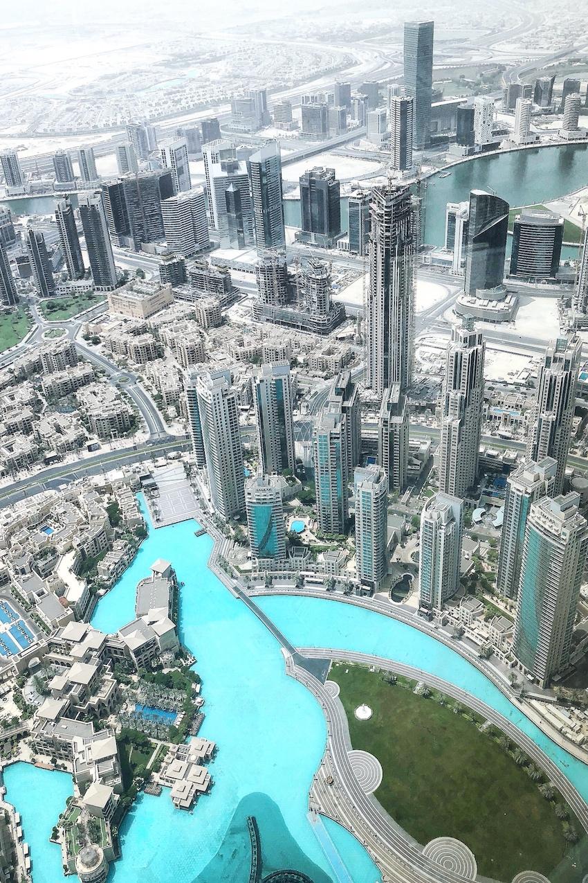 Blick von Burj Khalifa
