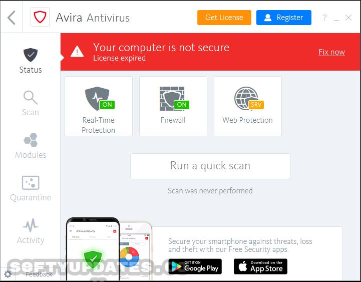 Avira Antivirus Pro 2019 15.0.44.143