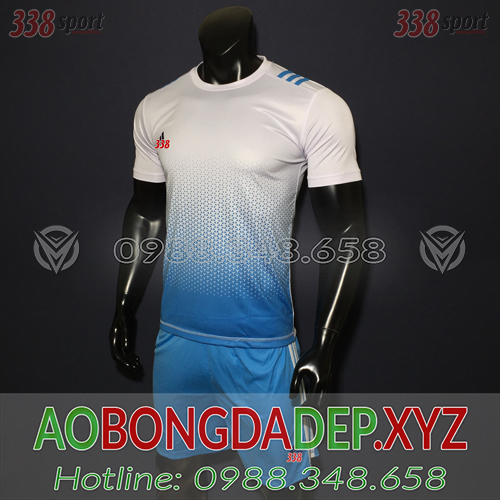 Áo Adidas AB 2019 Màu Xanh Nhạt Trắng Đẹp