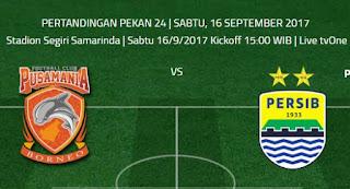 Laga Persib vs Bali United Kamis (21/9/2017) Dipantau Bhayangkara FC