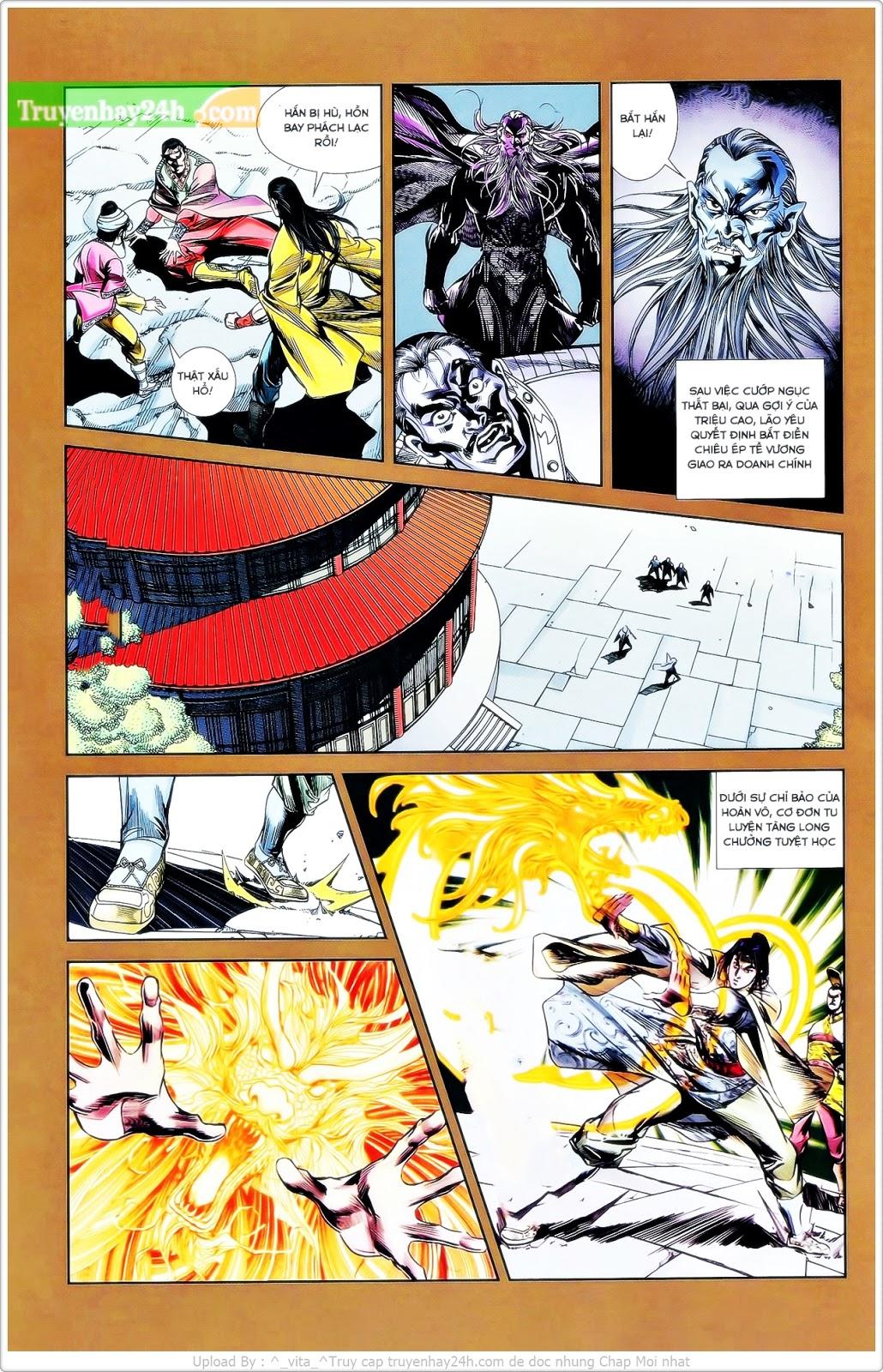 Tần Vương Doanh Chính chapter 26 trang 21