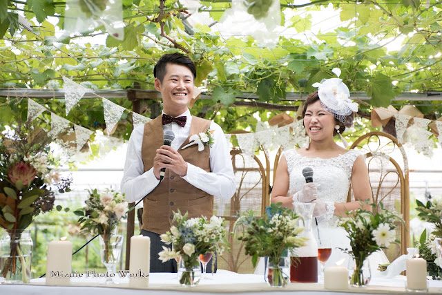 山藤ぶどう園結婚式