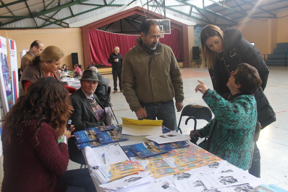 En la comuna de Retiro localidades de Quillaymo y las Camelias recibieron el Gobierno Presente
