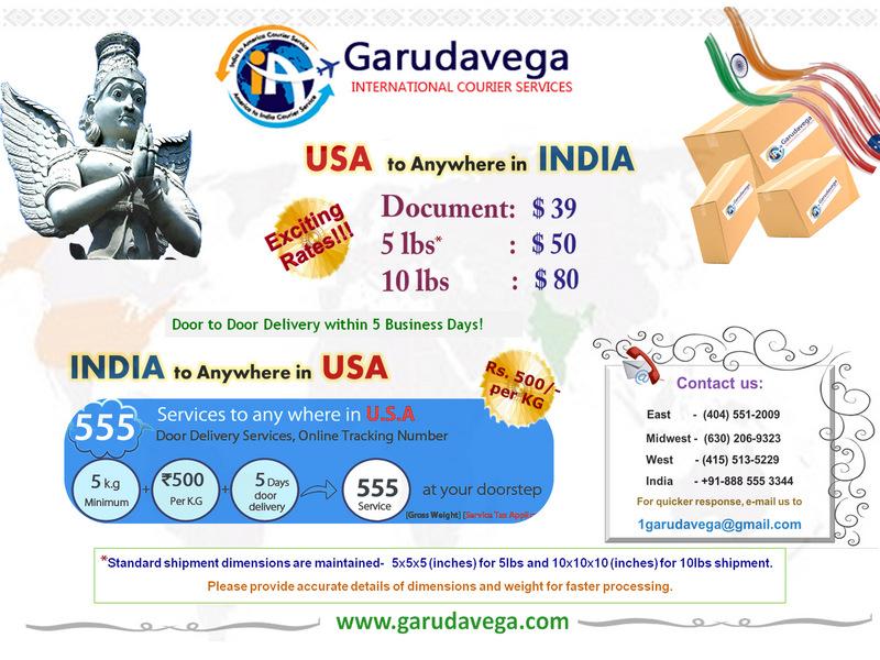 Garudavega Courier Services