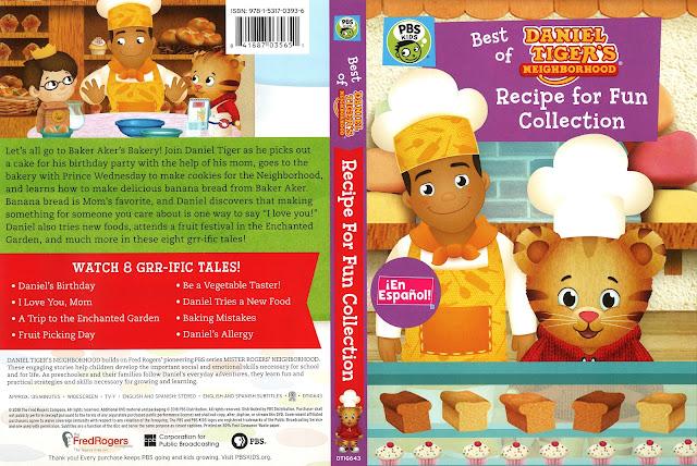 Best of Daniel Tiger Recipe for Fun DVD Cover