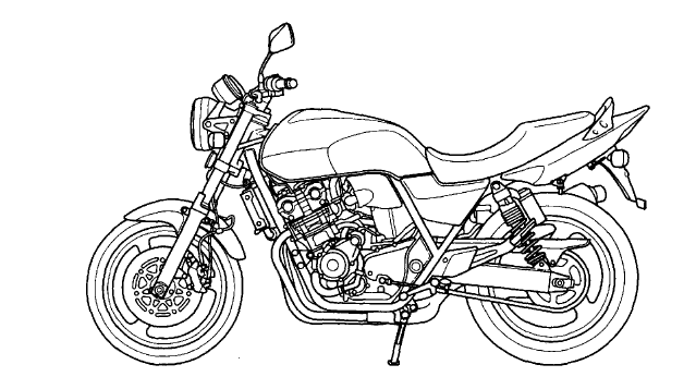 Honda cb 400 sf Service manual ~ Guide Handbook Manual