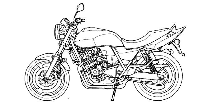 Honda cb 400 sf Service manual ~ Guide Handbook Manual