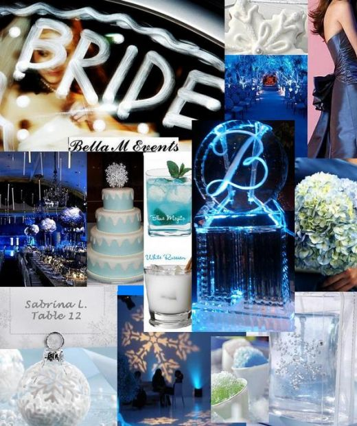 Winter Wonderland Wedding Ideas: Your Wedding Support: GET THE LOOK