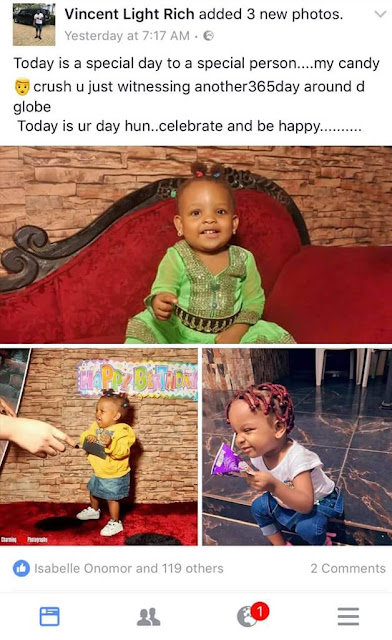 Nigerian woman raises alarm after a man keeps posting photos of her and her child claiming they are his family