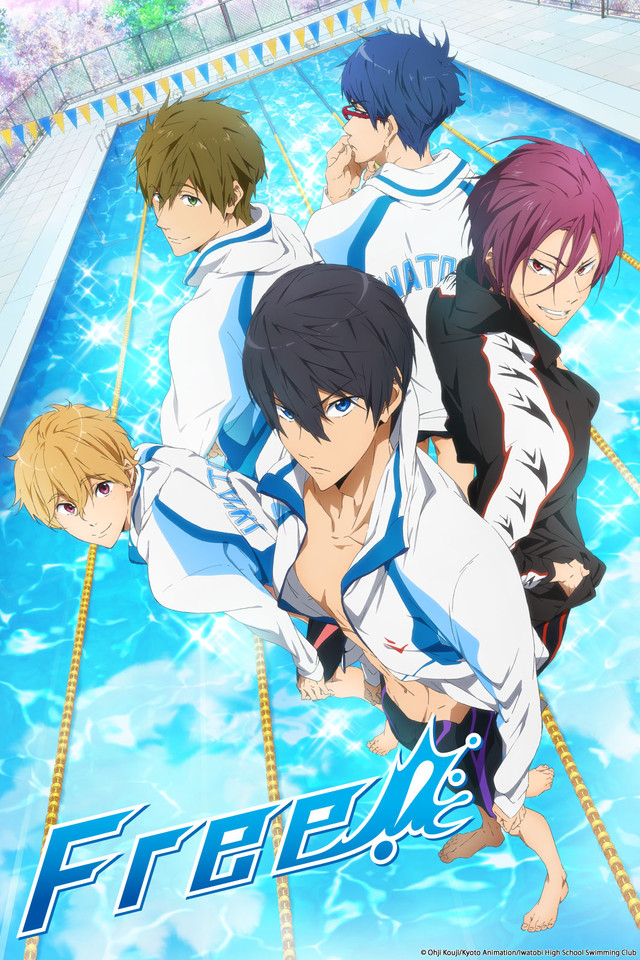 cover anime Free! - Iwatobi Swim Club