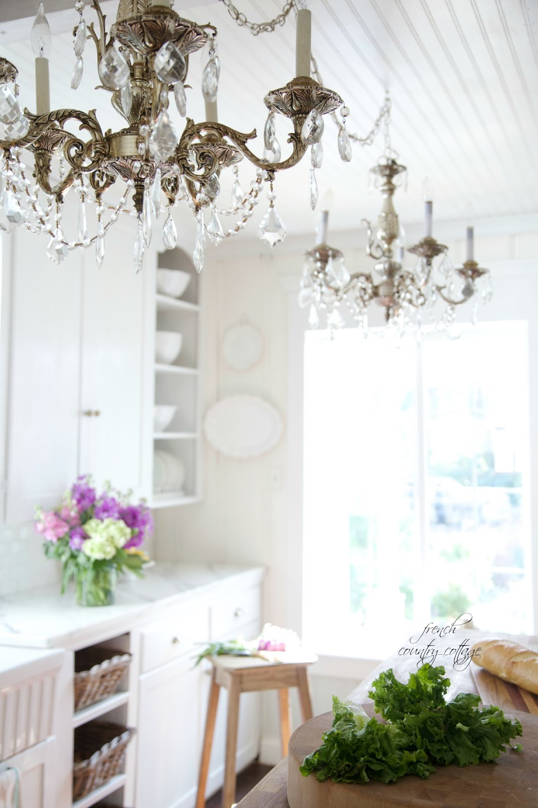 French Country Cottage Chandeliers