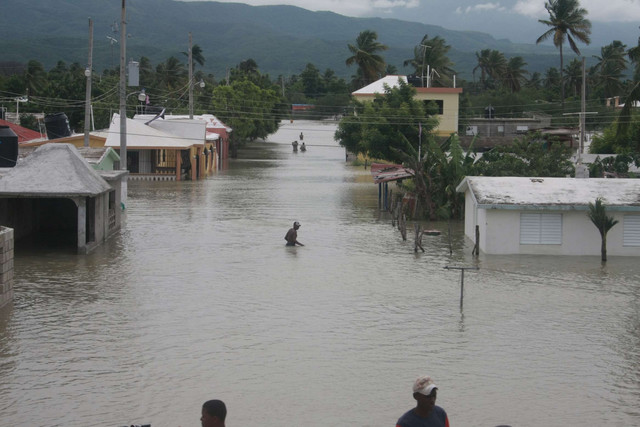 Two weeks heavy rains displaced more than 20,000 as emergency declared in The Dominican Republic  383
