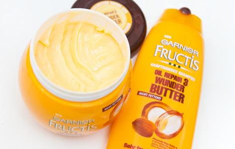 Review Garnier Fructis Oil Repair 3 Wunder Butter