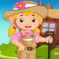 Games4King Farming Field Worker Rescue
