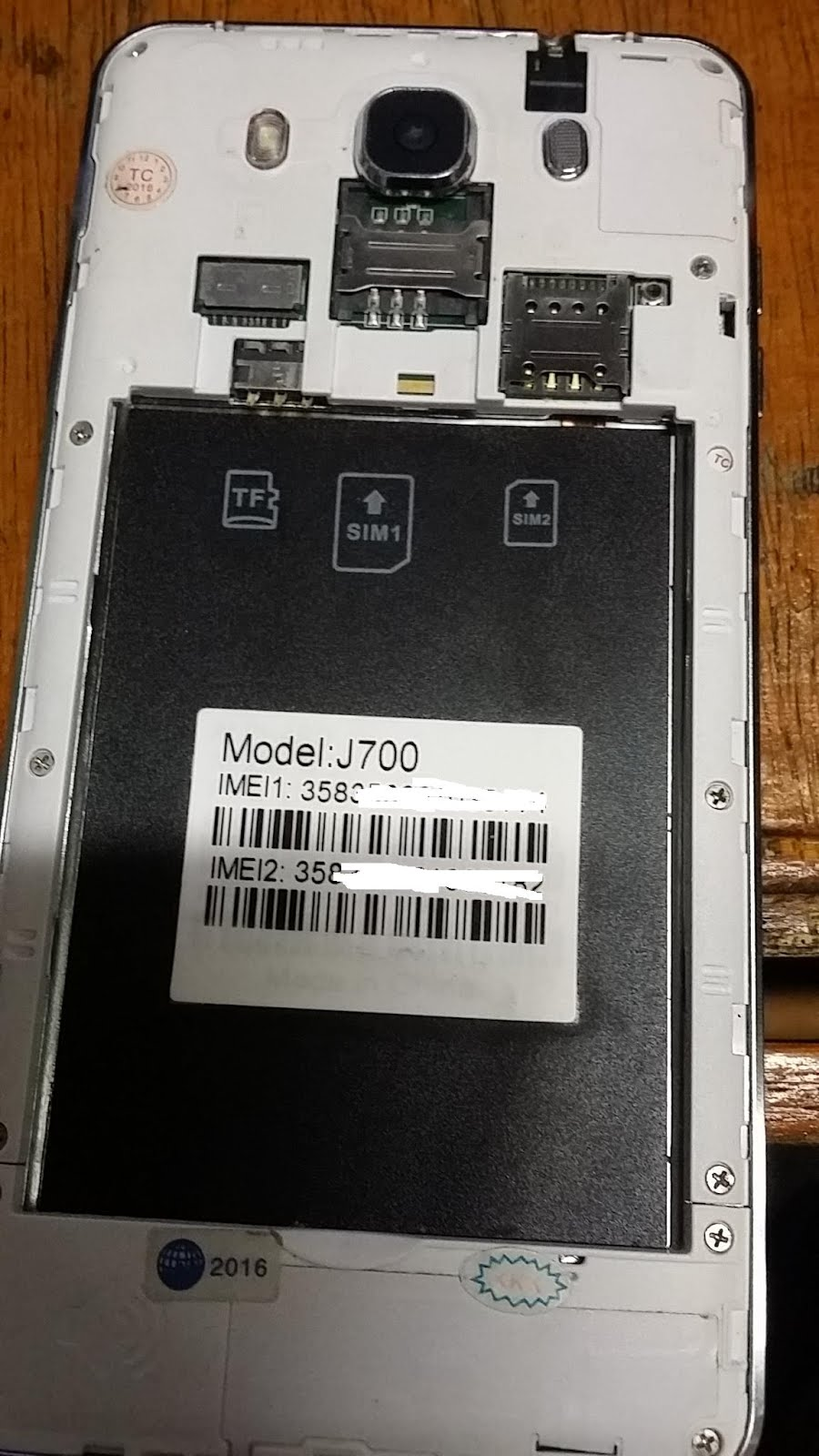 Mobile Info: Samsung Clone
