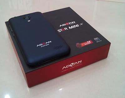 Advan Star Mini S4K smartphone murah di bawah satu juta