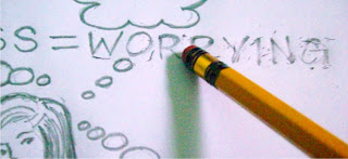 erase worrying pencil
