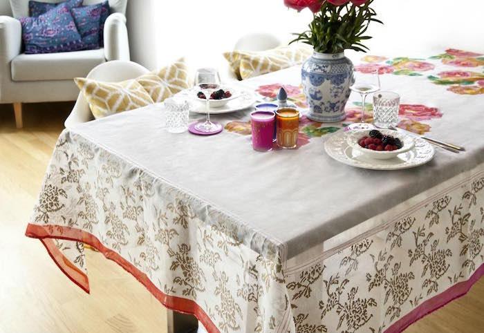 trucos vestir la mesa en primavera