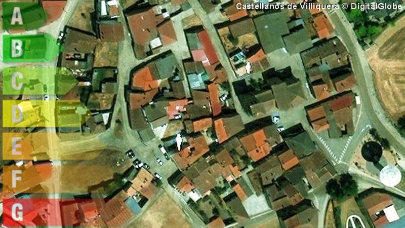 certificado energetico de vivienda y local en castellanos de villiquera