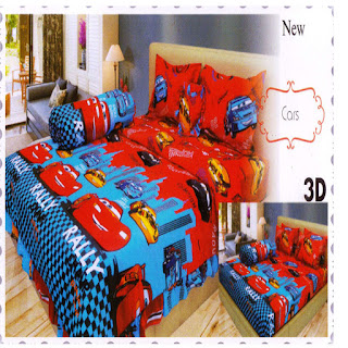 sprei 3d lady rose Cars