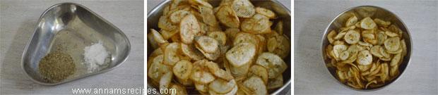 Vazhakkai Chips / Raw Banana Chips