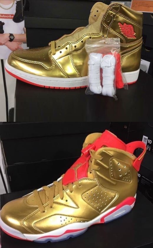b3782f288b6f37 Guests at Sneaker Con in Anaheim today were treated to an in-person look at Barrett s  exclusive 1 through 28 set
