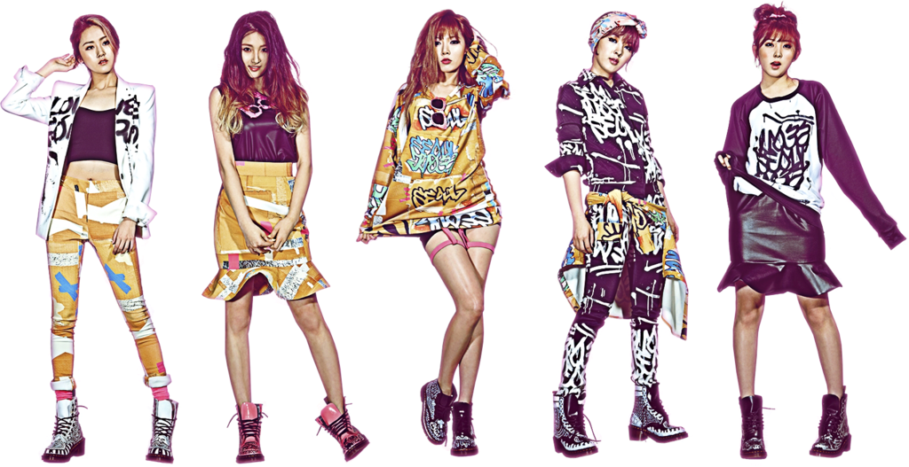 4Minute Wallpaper HD 2014 - Free Kpop Wallpaper Collection ...