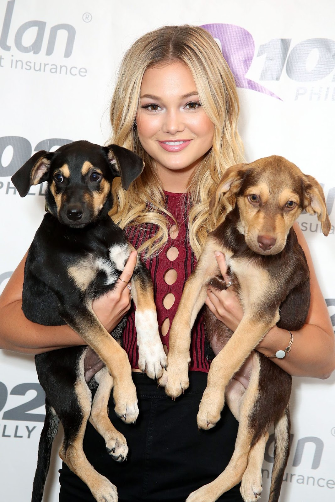HQ Photos of Olivia Holt at Q102 iHeartRADIO Performance Studio in Bala Cynwyd