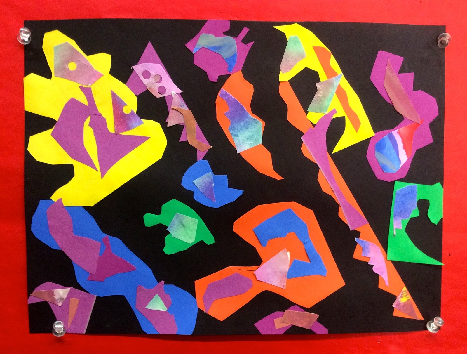 Ms Curry S Art Room 1st Grade Henri Matisse Inspired Collage