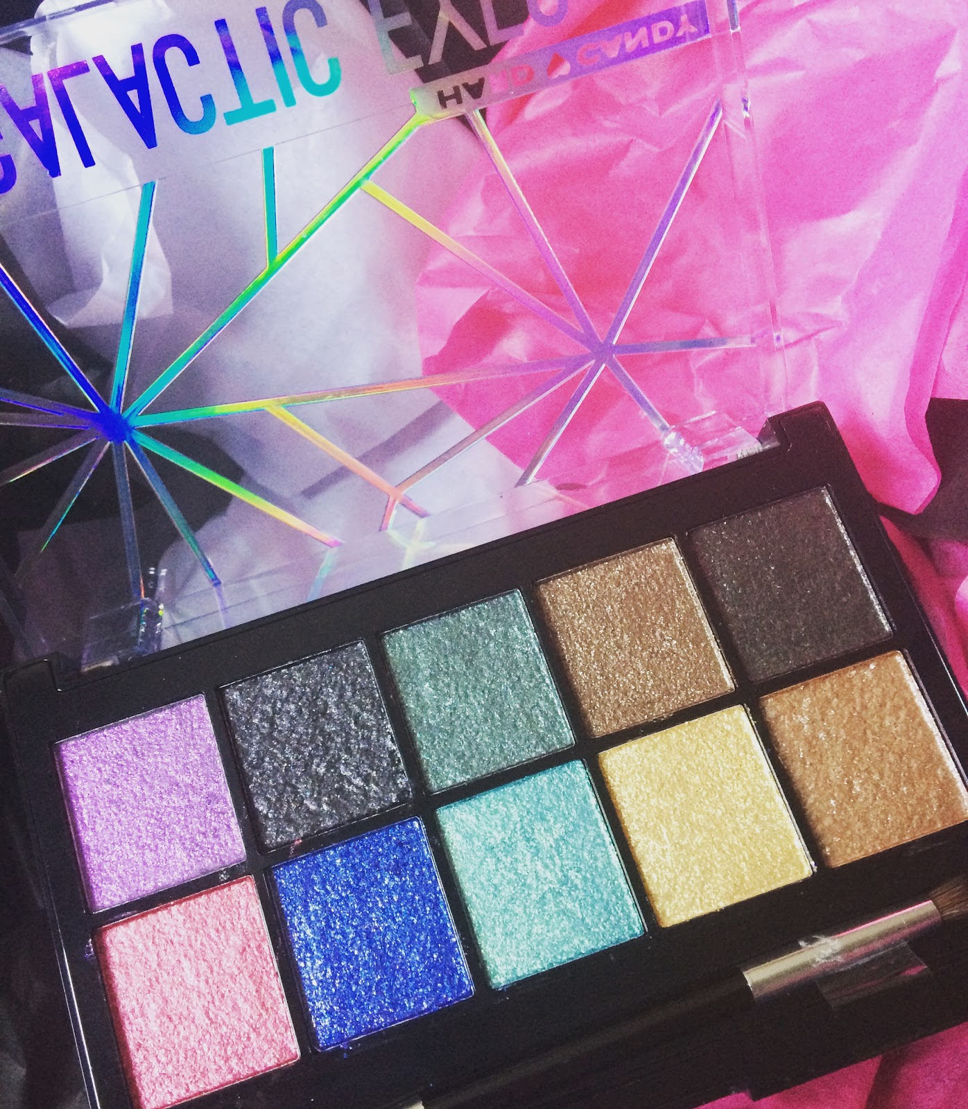 Simply Nerdy Mom Hard Candy Galactic Eyes Palette Is Out Of This World
