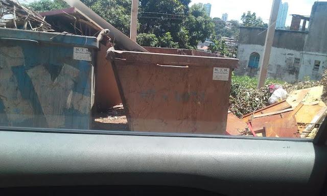 Lixão na Rua Rodrigo Argollo preocupa moradores