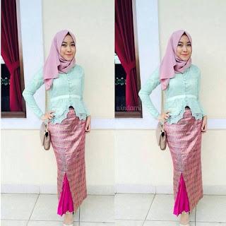model rok batik untuk baju kebaya