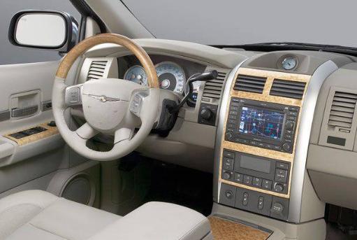 2017 Chrysler Aspen Interior