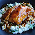 Braised Rabbit with Garlic Caramel Sauce and Risotto Recipes