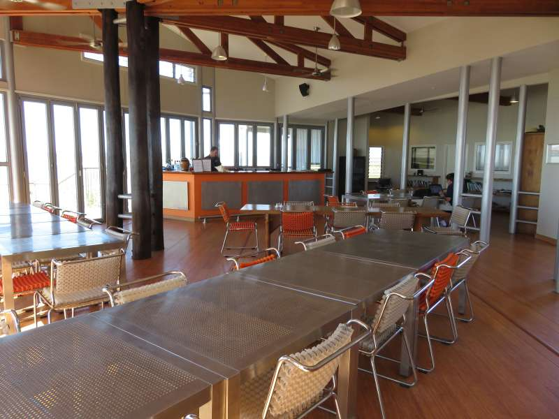 Berkeley River Lodge dining room