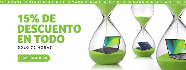 Top 5 ofertas 15% descuento en todo de la Acer Store