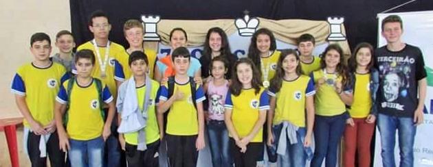 Roncadorenses participam do 7º Circuito de Xadrez realizado em Campina da Lagoa