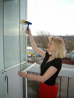 Zasklení balkonu OPTIMI zevnitř