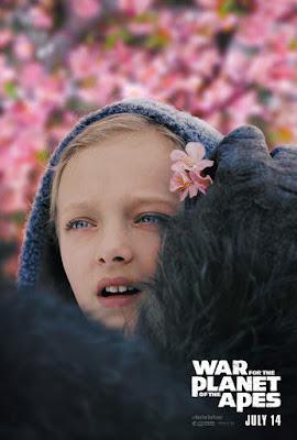 Póster de Nova en El Planeta de los Simios: la Guerra