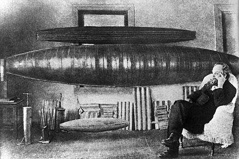Airship, Upaya Pertama Soviet Membawa Perang ke Langit