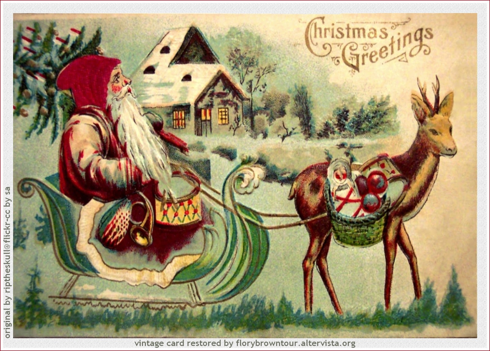 Il Magico Scrittoio Di Elisenda La Filastrocca Delle Renne Di Natale