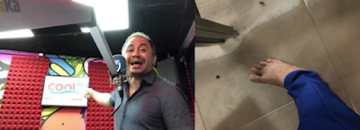 Daddy Freeze Blows Hot On How He Was Rudely Told To Take Off His Shoes In A Dirty Floor At The Airport